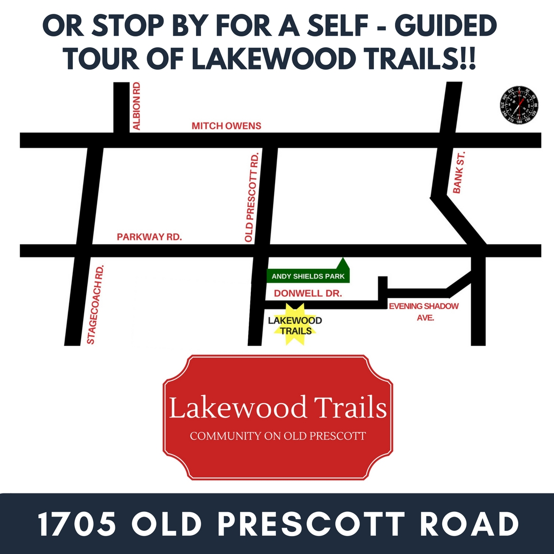 Directions to Lakewood Trails