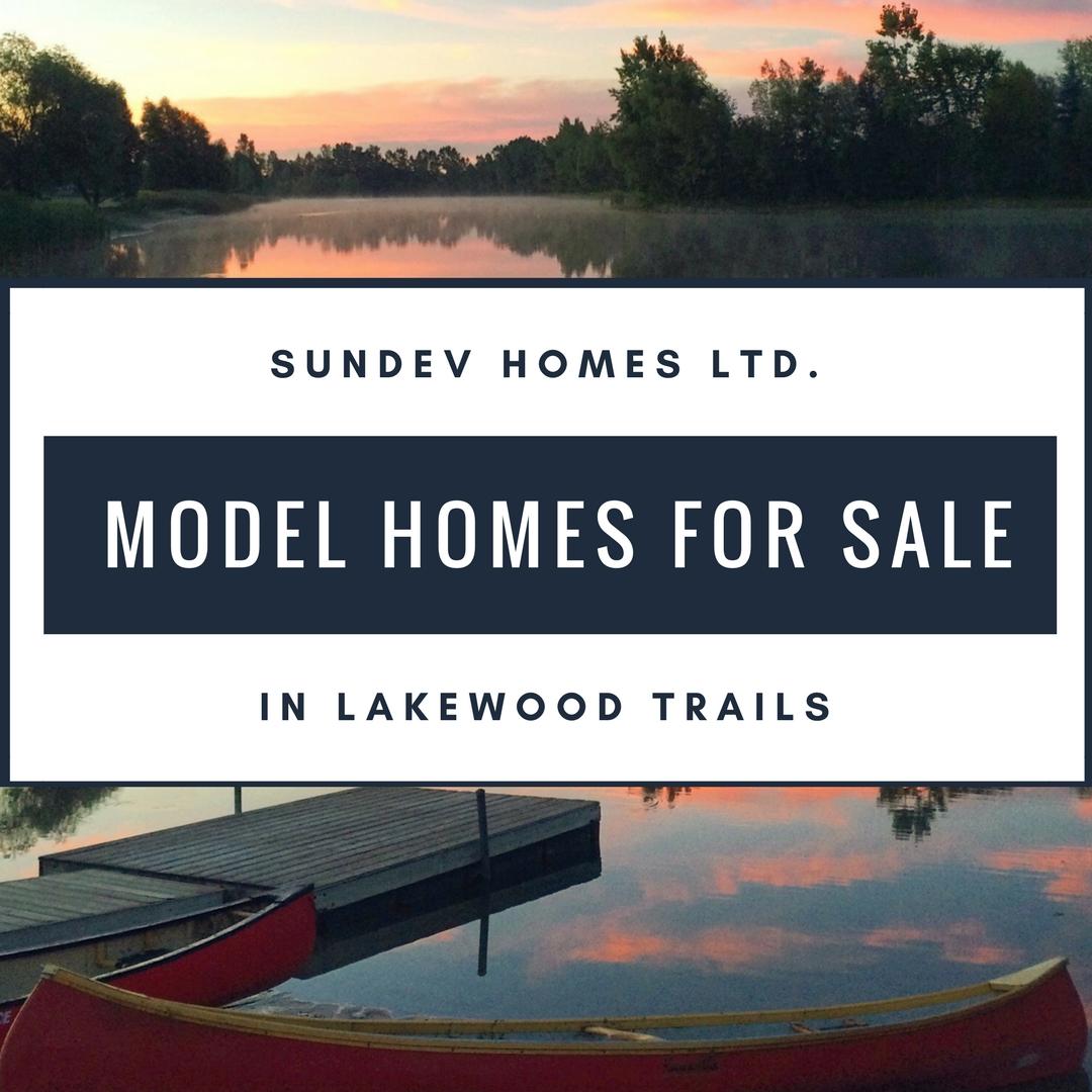SUNDEV Model Homes For Sale