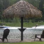 Having Fun in the Sun - Enjoying some waterskiing summer fun!